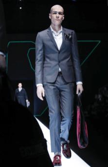 EMPORIO ARMANI MENSWEAR FALL WINTER 2018 MILAN3