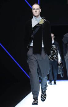 EMPORIO ARMANI MENSWEAR FALL WINTER 2018 MILAN69