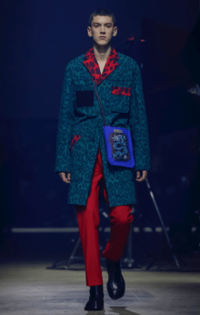 KENZO MEN & WOMEN MENSWEAR FALL WINTER 2018 PARIS14