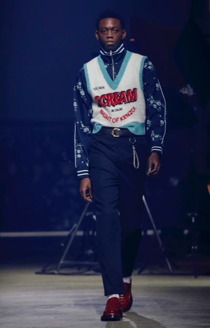 KENZO MEN & WOMEN MENSWEAR FALL WINTER 2018 PARIS7