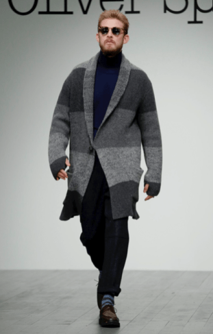 OLIVER SPENCER MENSWEAR FALL WINTER 2018 LONDON21