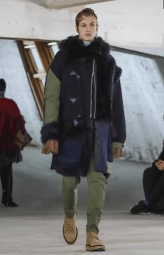 SACAI MENSWEAR FALL WINTER 2018 PARIS35
