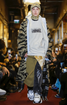 VETEMENTS MENSWEAR FALL WINTER 2018 PARIS37