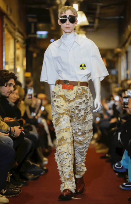 VETEMENTS MENSWEAR FALL WINTER 2018 PARIS51