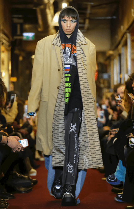 VETEMENTS MENSWEAR FALL WINTER 2018 PARIS9