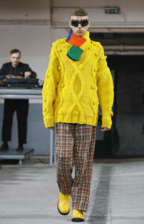 WALTER VAN BEIRENDONCK MENSWEAR FALL WINTER 2018 PARIS32
