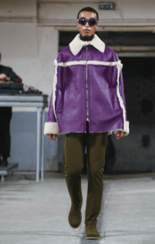 WALTER VAN BEIRENDONCK MENSWEAR FALL WINTER 2018 PARIS34