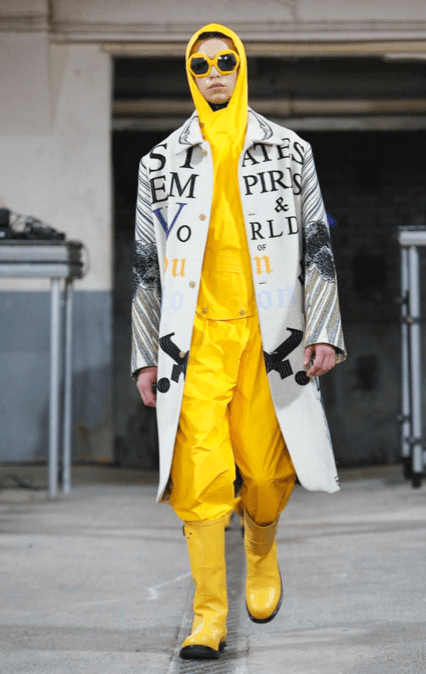WALTER VAN BEIRENDONCK MENSWEAR FALL WINTER 2018 PARIS39
