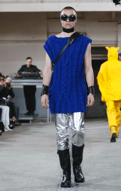 WALTER VAN BEIRENDONCK MENSWEAR FALL WINTER 2018 PARIS40