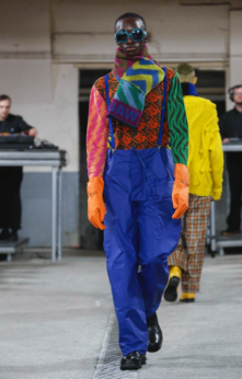 WALTER VAN BEIRENDONCK MENSWEAR FALL WINTER 2018 PARIS43