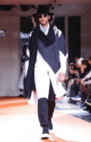 YOHJI YAMAMOTO MENSWEAR FALL WINTER 2018 PARIS1