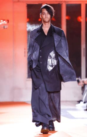 YOHJI YAMAMOTO MENSWEAR FALL WINTER 2018 PARIS10