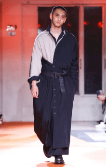 YOHJI YAMAMOTO MENSWEAR FALL WINTER 2018 PARIS16