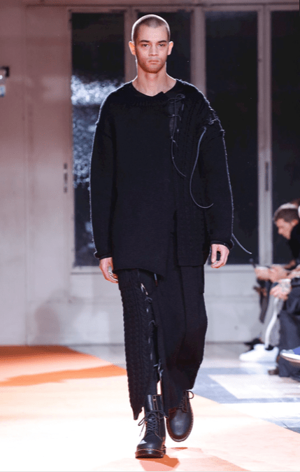 YOHJI YAMAMOTO MENSWEAR FALL WINTER 2018 PARIS25