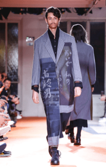 YOHJI YAMAMOTO MENSWEAR FALL WINTER 2018 PARIS3