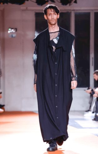 YOHJI YAMAMOTO MENSWEAR FALL WINTER 2018 PARIS33