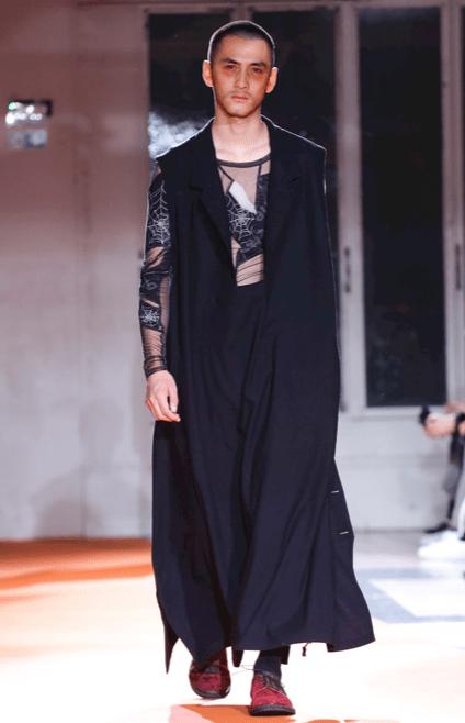 YOHJI YAMAMOTO MENSWEAR FALL WINTER 2018 PARIS40