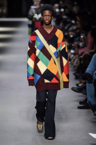 BURBERRY MEN FALL WINTER 2018 LONDON19