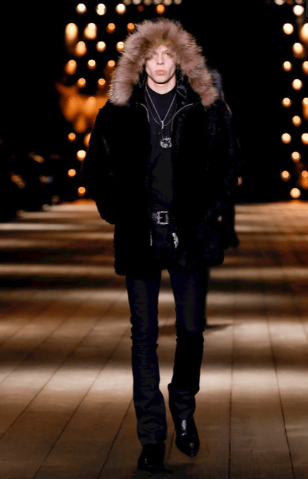 SAINT LAURENT READY TO WEAR FALL WINTER 2018 PARIS17