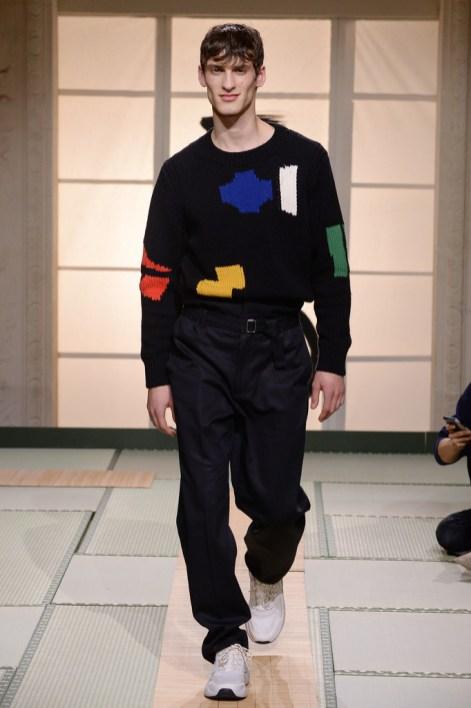 H&M: Runway Menswear Fall:Winter 2018 PFW10