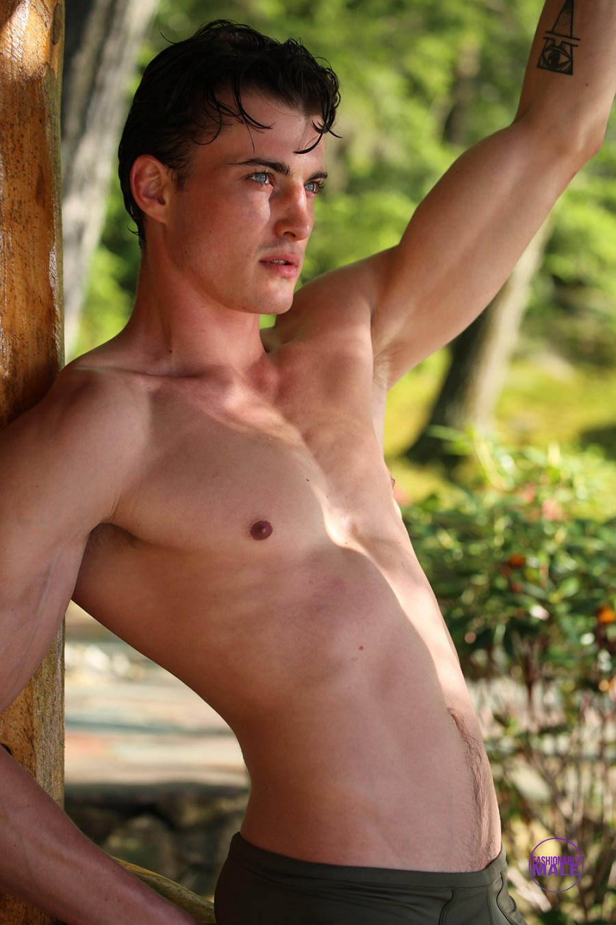 Uncovered Model Jack Ellis by photographer Michael Del Buono
