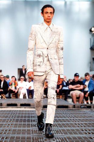 Alexander McQueen Menswear Spring Summer 2019 Paris12
