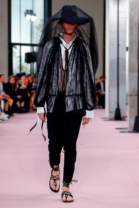 Ann Demeulemeester Menswear Spring Summer 2019 Paris2