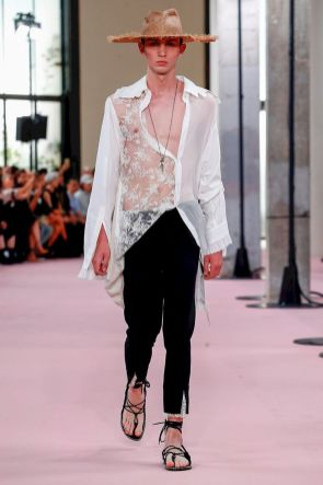 Ann Demeulemeester Menswear Spring Summer 2019 Paris29