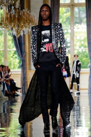 Balmain Homme Menswear Spring Summer 2019 Paris75