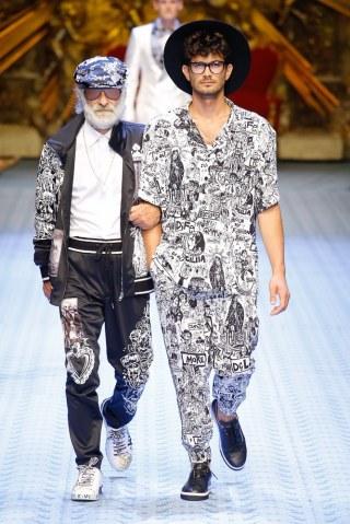 Dolce & Gabbana Spring Summer 2019 Milan115