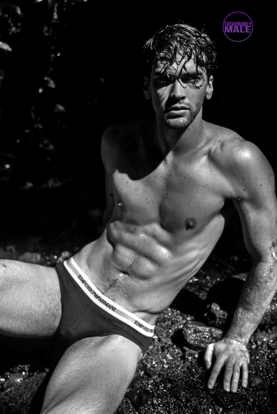 Shredded Male Body Alert: Franco Barrera in pics by Jeremy Holden