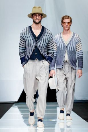 Giorgio Armani Menswear Spring Summer 2019 Milan10
