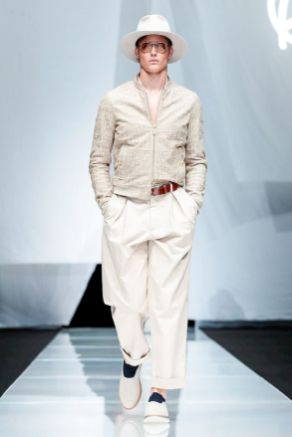 Giorgio Armani Menswear Spring Summer 2019 Milan4