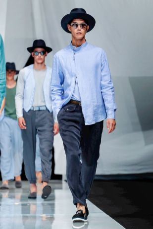 Giorgio Armani Menswear Spring Summer 2019 Milan55