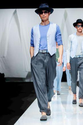 Giorgio Armani Menswear Spring Summer 2019 Milan58