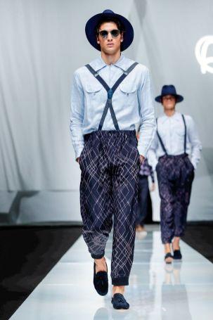 Giorgio Armani Menswear Spring Summer 2019 Milan61