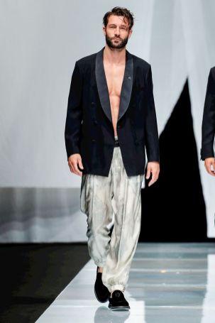 Giorgio Armani Menswear Spring Summer 2019 Milan85