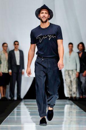 Giorgio Armani Menswear Spring Summer 2019 Milan86