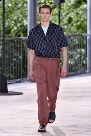 Issey Miyake Men's Spring 2019