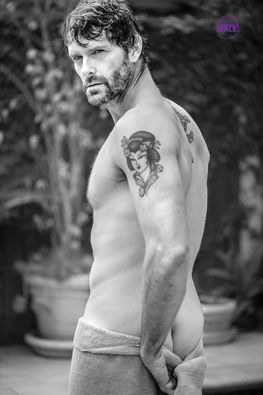 Happy To Meet L.A. Actor & Model Jayson Glick in Pictures by Walter Tabayoyong