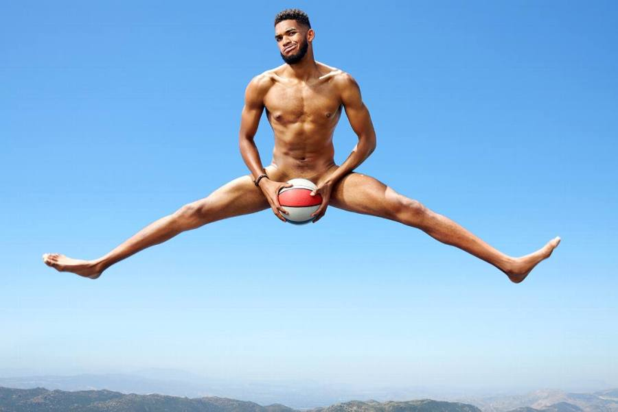 Karl Anthony Towns for ESPN Body Issue 10