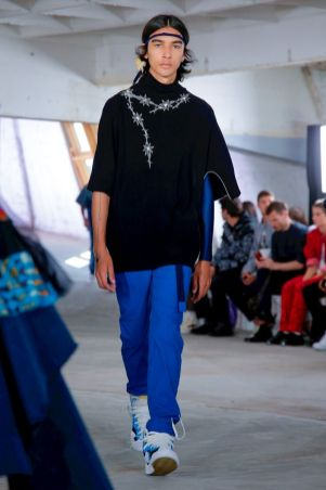 Sacai Menswear Spring Summer 2019 Paris11