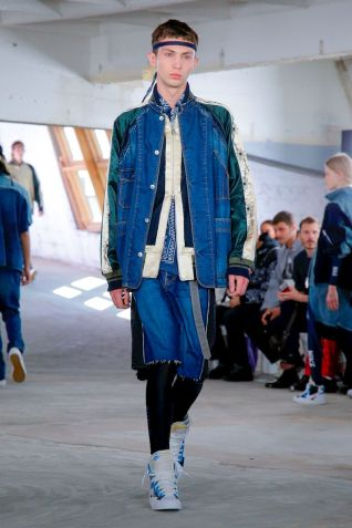 Sacai Menswear Spring Summer 2019 Paris12