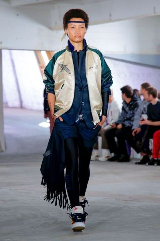 Sacai Menswear Spring Summer 2019 Paris18