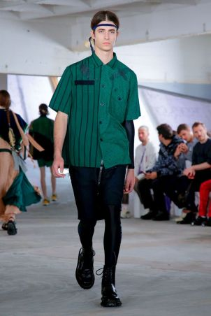 Sacai Menswear Spring Summer 2019 Paris52