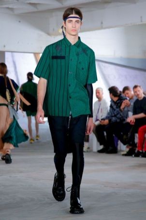 Sacai Menswear Spring Summer 2019 Paris52