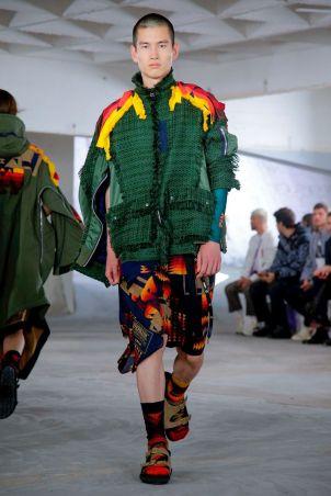 Sacai Menswear Spring Summer 2019 Paris57