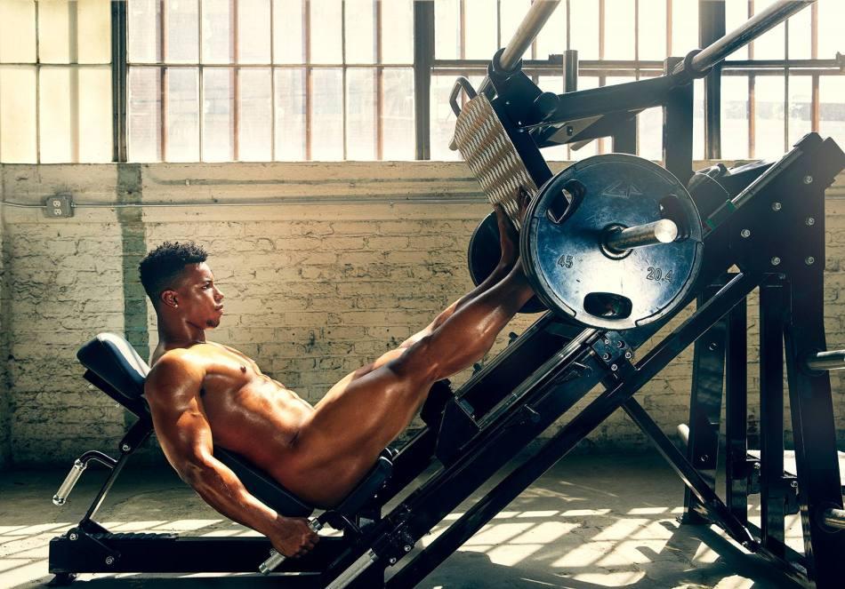 Saquon Barkley for ESPN Body Issue 10
