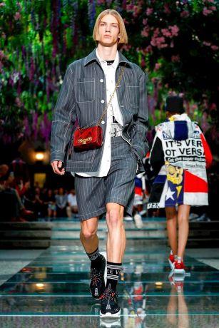 Versace Menswear Spring Summer 2019 Milan11
