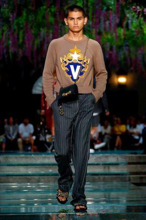 Versace Menswear Spring Summer 2019 Milan12